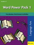 Word Power Pack 1 for Grades 6-7