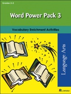 Word Power Pack 3 for Grades 2-3