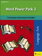 Word Power Pack 3 for Grades 3-4
