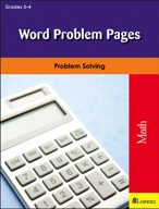 Word Problem Pages