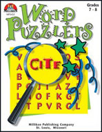 Word Puzzlers - Grades 7-8