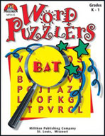 Word Puzzlers - Grades K-1 (Enhanced eBook)