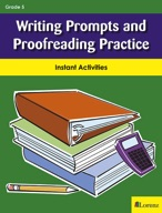 Writing Prompts and Proofreading Practice