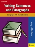 Writing Sentences and Paragraphs