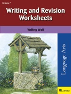 Writing and Revision Worksheets