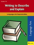 Writing to Describe and Explain