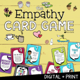 EMPATHY CARD GAME! A Social Skills Group Activity on How to Show Empathy