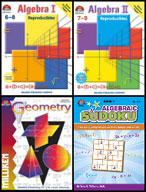 All About Math Bundle Grades 6-9 (Four Enhanced eBooks)