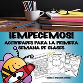 EMPECEMOS - Activities for the First Days of Spanish Class