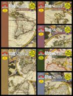 Map Skills Bundle (Six Enhanced eBooks)