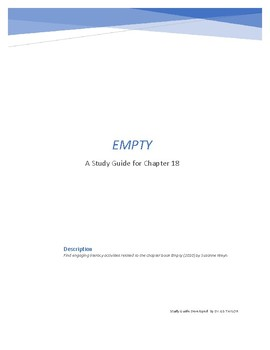 EMPTY (2010) STUDY GUIDE FOR CHAPTER 18