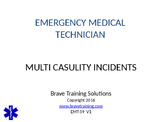TRIAGE- MASS CAUSALITY INCIDENTS PPT PRESENTATION