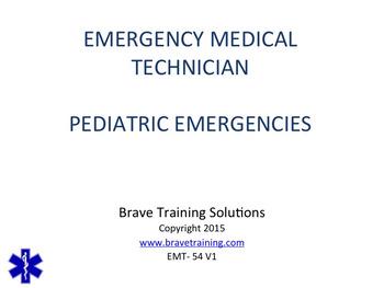 EMT/EMR PEDIATRIC EMERGENCIES POWERPOINT TRAINING PRESENTATION