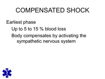 EMT/EMR SHOCK/RESUSCIATATION POWERPOINT TRAINING LESSON