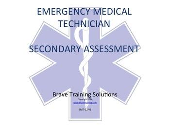 EMT POWERPOINT TRAINING LESSON SECONDARY ASSESSMENT