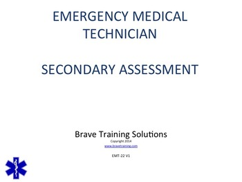 EMT/EMR LESSON ON SECONDARY SURVEY