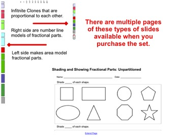 EMath Smart Notebook Fractions: Comparing Fractions