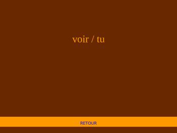 EN PERIL Passé Composé of Irregular Verbs