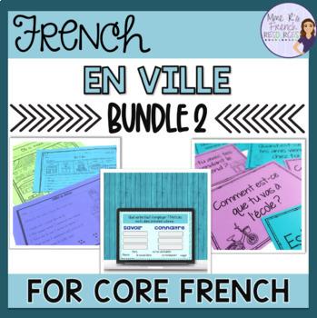 EN VILLE BUNDLE for French 2