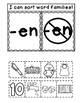 EN Word Family Interactive Notebook