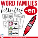 EN Word Family Mini Pack