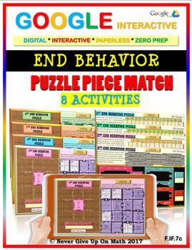 END BEHAVIOR - (8 Activities) Google Interactive