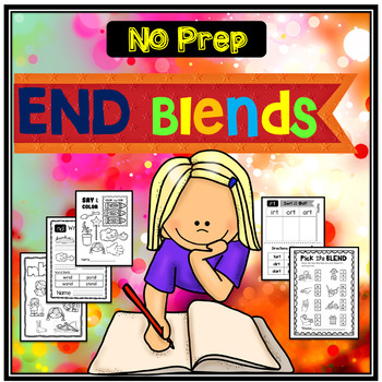 END BLENDS {No Prep Printables!}