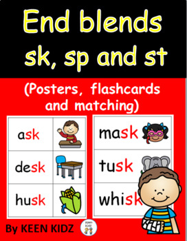 END BLENDS - SK, SP AND ST