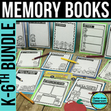 END OF THE YEAR MEMORY BOOK | ACTIVITIES | BUNDLE