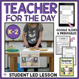 TEACHER FOR THE DAY - END OF THE YEAR ACTIVITIES FOR FIRST GRADE