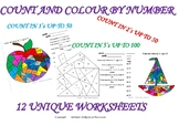 END OF THE YEAR ACTIVITIES - COLOUR BY NUMBER - MATH ACTIVITY