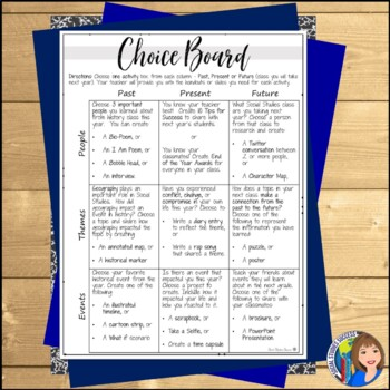 END OF THE YEAR ACTIVITIES FOR SECONDARY SOCIAL STUDIES