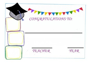 END OF THE YEAR ACTIVITIES - GRADUATION CERTIFICATES