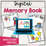 END OF THE YEAR ACTIVITIES - Google Slides™ Digital Memory Book