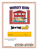 END OF THE YEAR ACTIVITIES MEMORY BOOK NO PREP