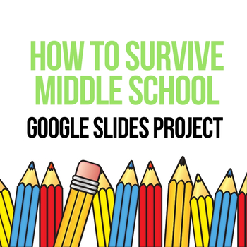 END OF THE YEAR ACTIVITY - How to Survive Middle School - Google Slides Project