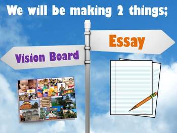 END OR BEGINNING OF THE YEAR ACTIVITY - Vision Boards