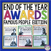 END OF THE YEAR AWARDS - FAMOUS PEOPLE