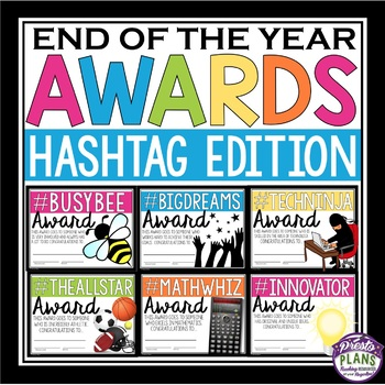 END OF THE YEAR AWARDS: HASHTAG EDITION