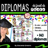 END OF THE YEAR AWARDS IN SPANISH /DIPLOMAS Y CERTIFICADOS