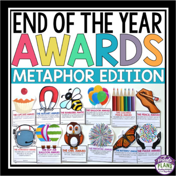 END OF THE YEAR AWARDS: METAPHOR EDITION