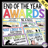 END OF THE YEAR AWARDS - MOST LIKELY TO (VOLUME 2)