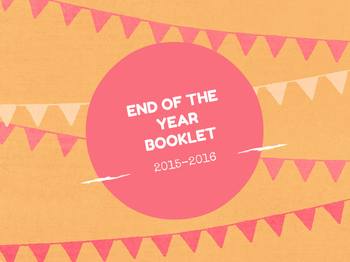 END OF THE YEAR BOOKLET