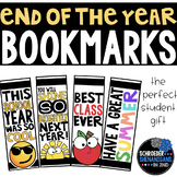 END OF THE YEAR BOOKMARKS student gift