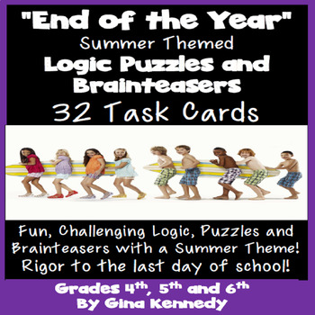 End of the Year Logic Puzzles & Brainteasers; Critical Thinking to the Last Day!