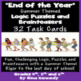 End of the Year Logic Puzzles & Brainteasers; Critical Thi