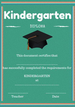 END OF THE YEAR CERTIFICATES (KINDERGARTEN- ELEMENTARY)