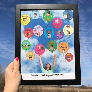 END OF THE YEAR COLLABORATIVE POSTER KEEPSAKE CREATED IN GOOGLE DRIVE