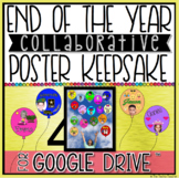 END OF THE YEAR COLLABORATIVE POSTER KEEPSAKE CREATED IN G