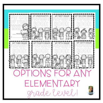 END OF THE YEAR MEMORY BOOK [for all elementary grades]